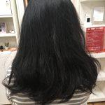 髪の毛を収めるためにニット帽!?