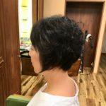 前髪だけのストレートパーマ☆