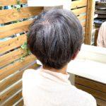 白髪を活かすグレイヘア☆