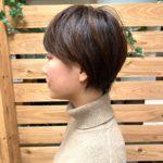 丸みのあるショートヘア☆