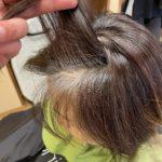 佐賀初☆白髪を楽しむヘアカラー